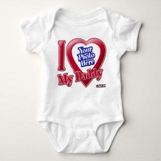 I Love My Daddy - Photo Baby Bodysuit