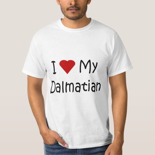 I Love My Dalmatian Dog Breed Lover Gifts T-Shirt