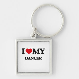 I love my Dancer Key Chain