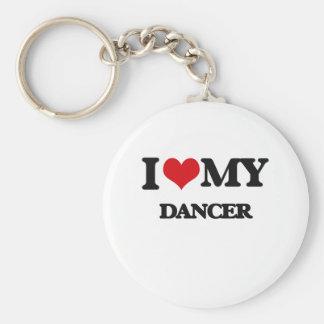 I love my Dancer Keychain
