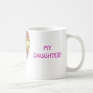 I love my daughter, autism mug