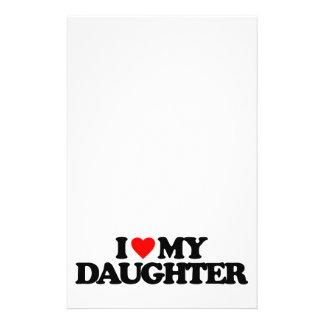I LOVE MY DAUGHTER FLYER DESIGN