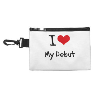 I Love My Debut Accessories Bags