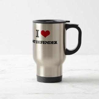 I Love My Defender Stainless Steel Travel Mug