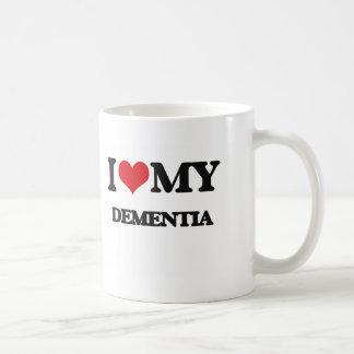 I Love My DEMENTIA Coffee Mug