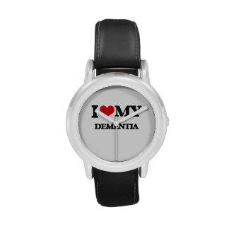 I Love My DEMENTIA Wristwatch