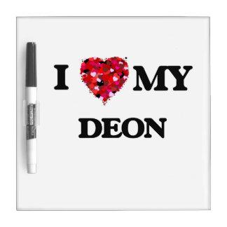 I love my Deon Dry Erase White Board