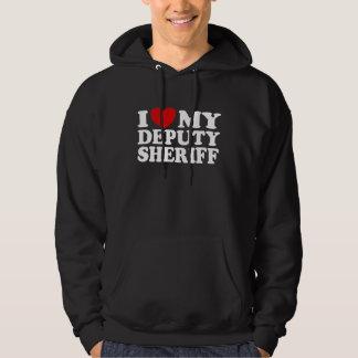 I Love My Deputy Sheriff Sweatshirts