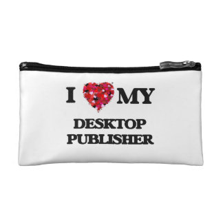 I love my Desktop Publisher Makeup Bags