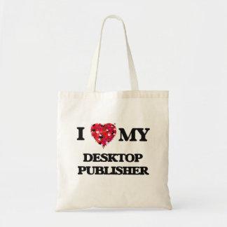 I love my Desktop Publisher Budget Tote Bag