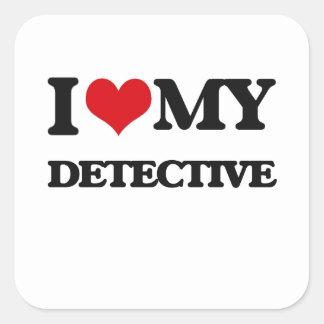 I love my Detective Stickers