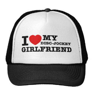 I love my Disc jockey girlfriend Cap