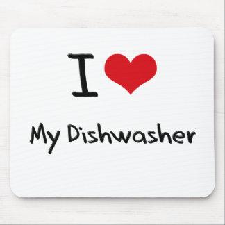 I Love My Dishwasher Mousepads