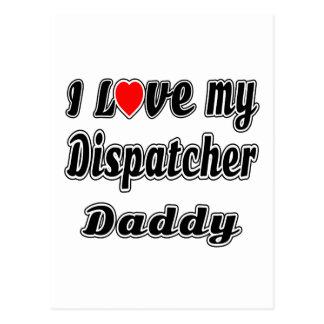 I Love My Dispatcher Mom Postcards