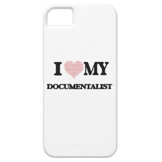 I love my Documentalist (Heart Made from Words) Case For The iPhone 5