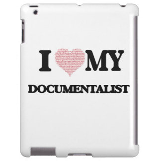 I love my Documentalist (Heart Made from Words) iPad Case