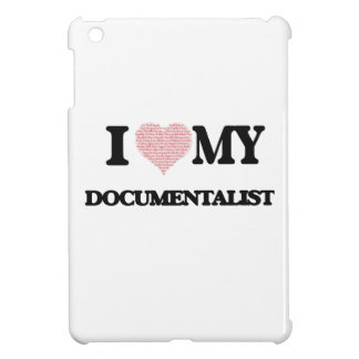 I love my Documentalist (Heart Made from Words) iPad Mini Covers