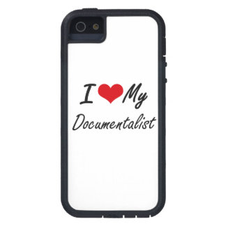 I love my Documentalist iPhone 5 Cover