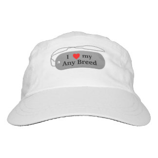 I love my dog breed hat