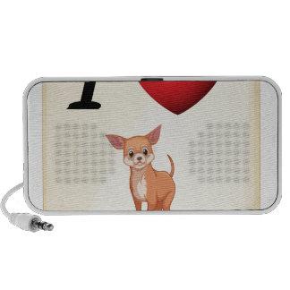 I love my dog mp3 speaker
