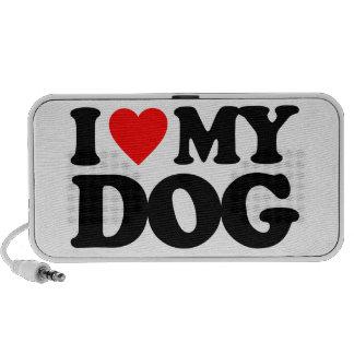 I LOVE MY DOG SPEAKER SYSTEM