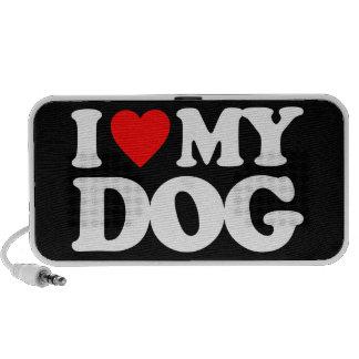 I LOVE MY DOG PC SPEAKERS