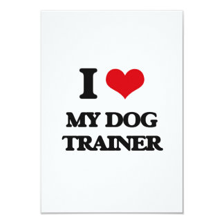 I Love My Dog Trainer Announcement