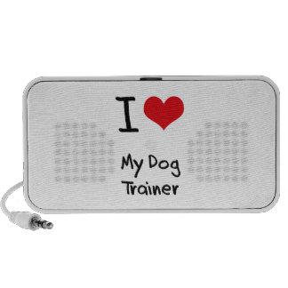 I Love My Dog Trainer Travel Speaker