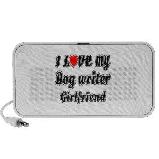 I Love My Dog writer Girlfriend Speaker System