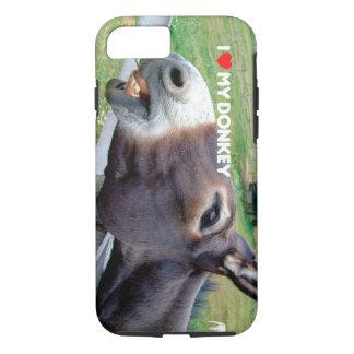 I Love My Donkey Funny Mule Farm Animal iPhone 7 Case