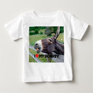 I Love My Donkey Funny Mule Farm Animal T Shirt
