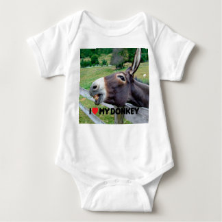 I Love My Donkey Funny Mule Farm Animal Tshirts