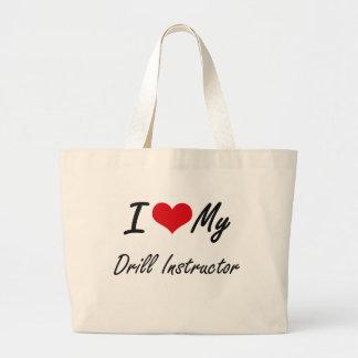 I love my Drill Instructor Jumbo Tote Bag