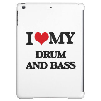 I Love My DRUM AND BASS iPad Air Case