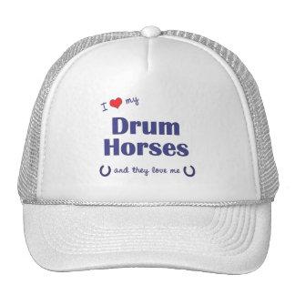 I Love My Drum Horses (Multiple Horses) Trucker Hats
