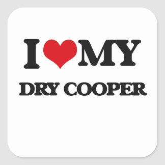 I love my Dry Cooper Sticker