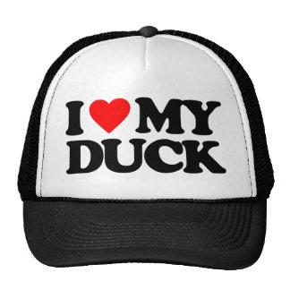 I LOVE MY DUCK CAP