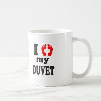 I Love My Duvet Coffee Mug