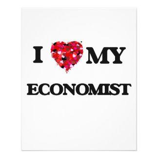 I love my Economist 11.5 Cm X 14 Cm Flyer