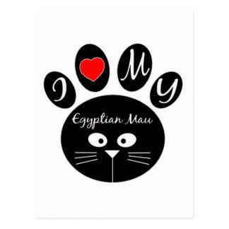 i love my Egyptian Mau. Post Cards