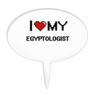 I love my Egyptologist Cake Pick