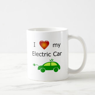 I Love my Electric Car Mug