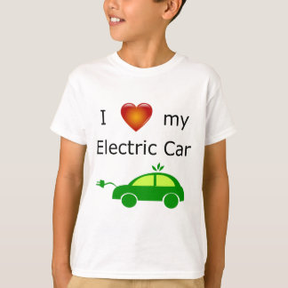 I Love My Electric Car T-Shirt