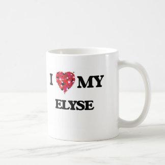 I love my Elyse Basic White Mug