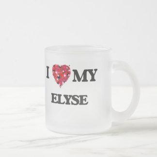 I love my Elyse Frosted Glass Mug