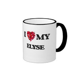 I love my Elyse Ringer Mug