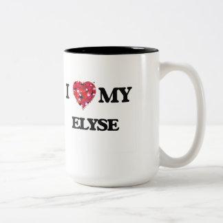 I love my Elyse Two-Tone Mug