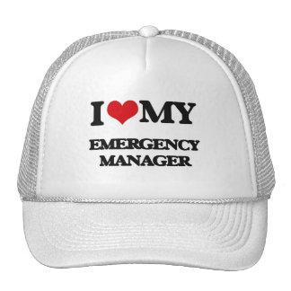 I love my Emergency Manager Trucker Hat