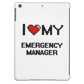 I love my Emergency Manager iPad Air Case