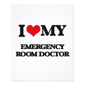 I love my Emergency Room Doctor Full Color Flyer
